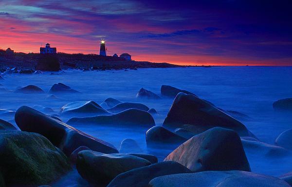 Jim Beckwith - Point Judith Lighthouse first light