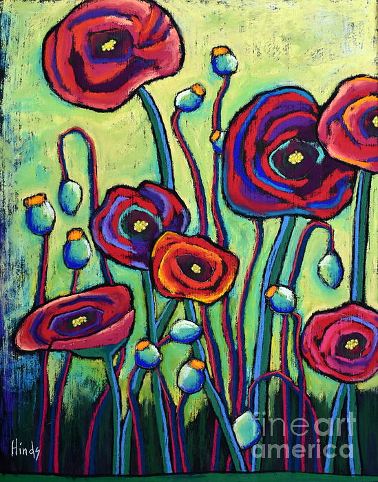 David Hinds - Poppies II