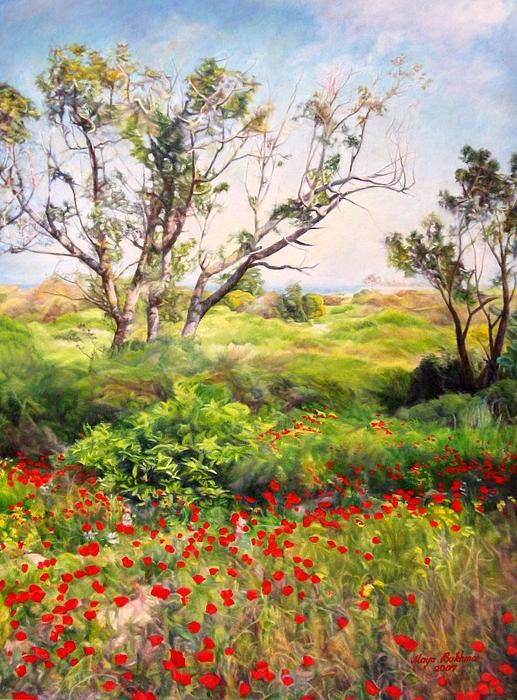 Maya Bukhina - Poppies
