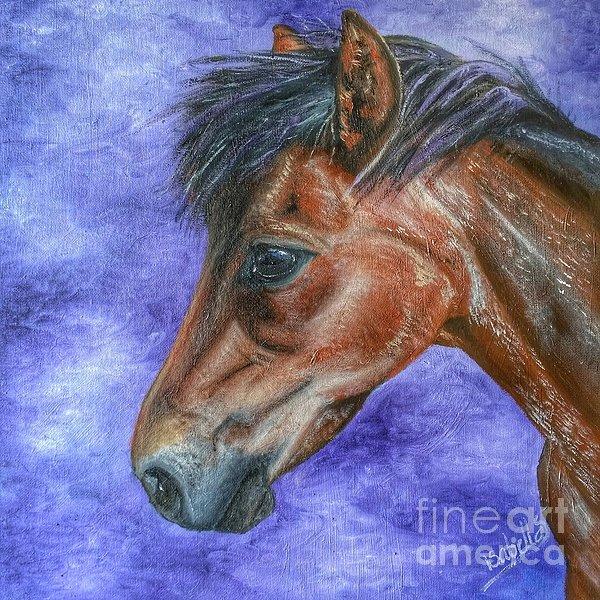 Isabella F Abbie Shores - Portrait of a Pony