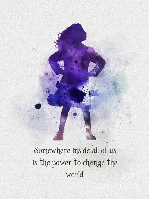 Rebecca Jenkins - Power to change the world