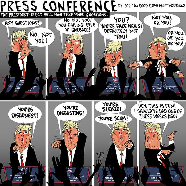 Joe Fournier - Press Conference