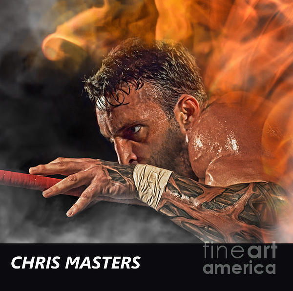 Jim Fitzpatrick - Pro Wrestler Chris Masters Out Of The Flames