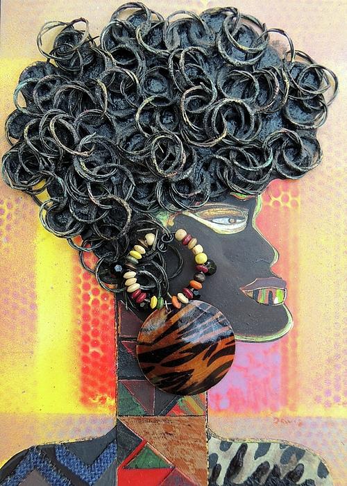 Donald E Davis - Profile of African Woman