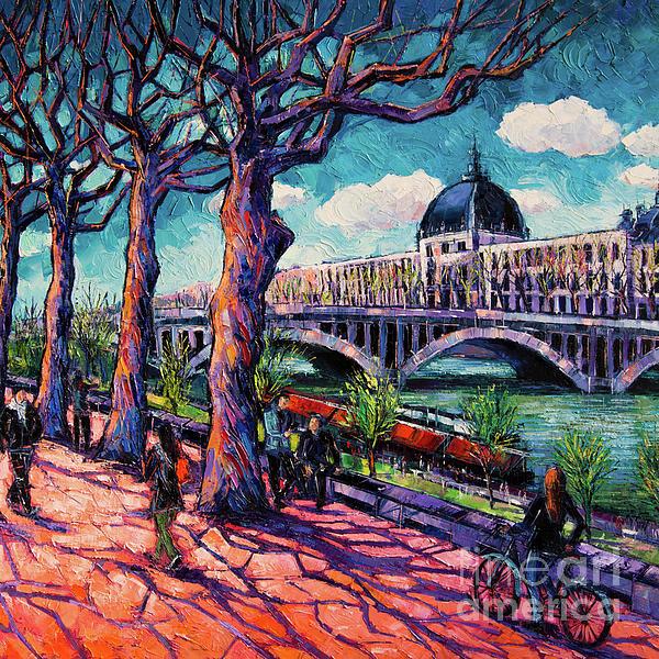 Mona Edulesco - Promenade along the Rhone