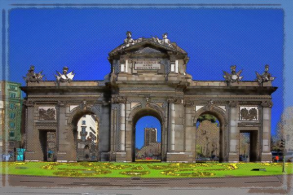 Joan Carroll - Puerta de Alcala Madrid