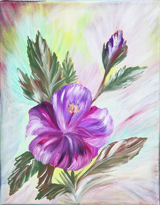 Nina Lehouillier - Purple Flower