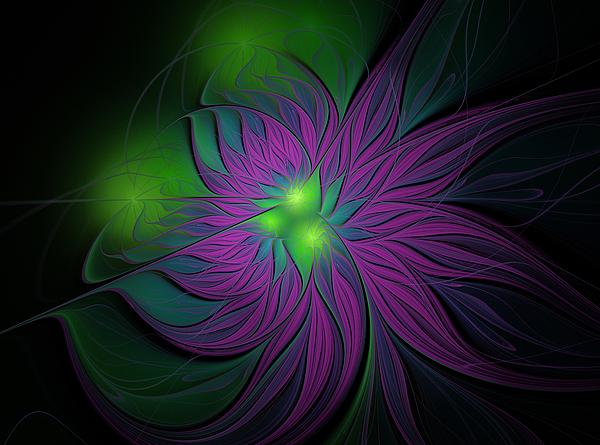 Anna Bliokh - Purple Magic Flower