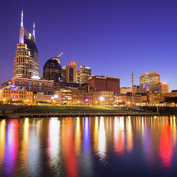 Gregory Ballos - Purple Nashville - Tennessee Skyline Photography