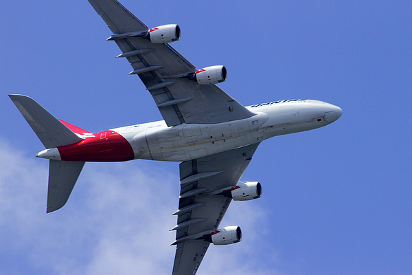 Miroslava Jurcik - Qantas Flyover