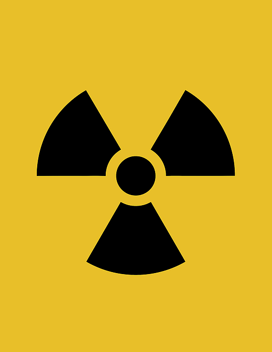 Radiation Hazard Symbol Greeting Card For Sale By War Is Hell Store
