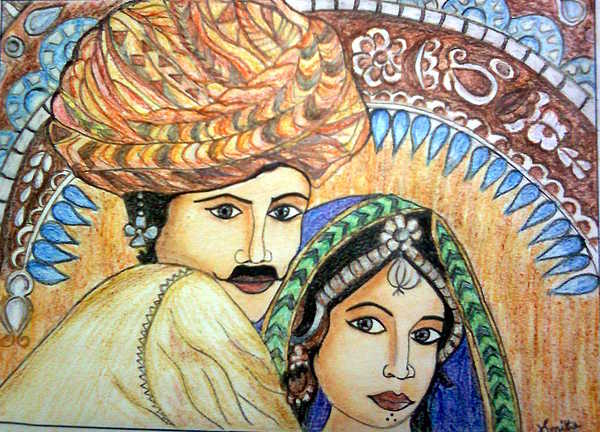 Smitha Kamath - Rajasthani Painting