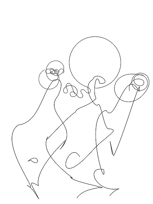 Really Loose Drawing 2 Digital Art
