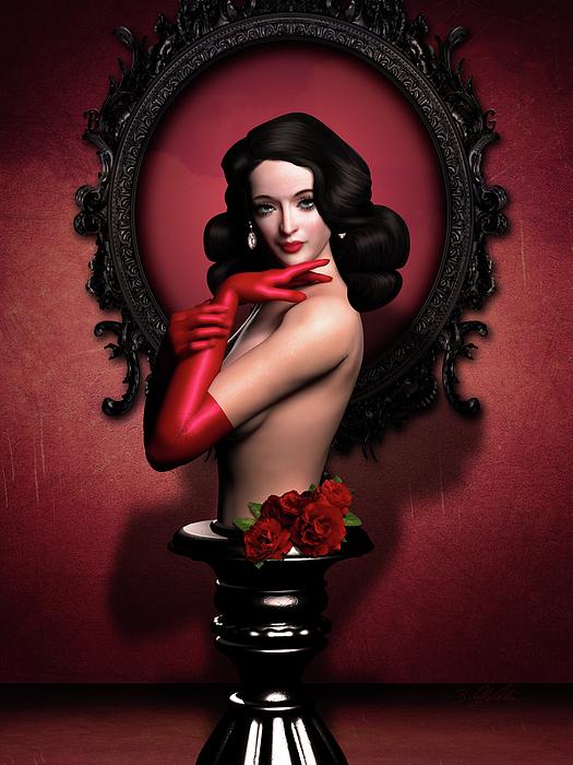 Britta Glodde - Red Gloves Fetish