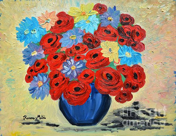 Ramona Matei - Red Poppies and All Kinds of Daisies