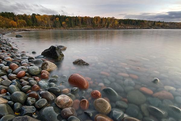 Michael Treloar - Red Rocks  Lake Superior