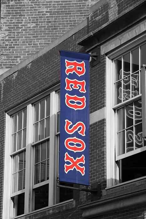 Allen Beatty - Red Sox Banner - Fenway Park