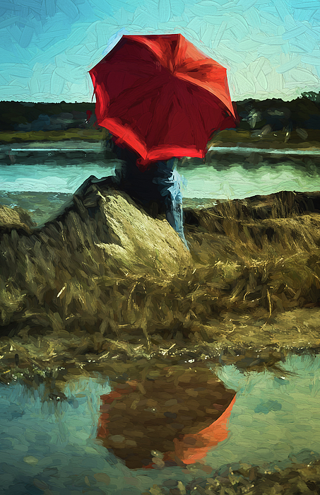 Patrice Zinck - Red Umbrella