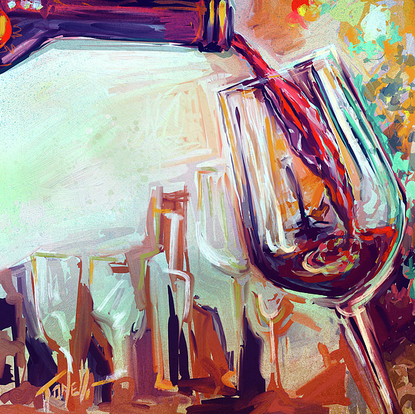 Mark Tonelli - Red Wine, Large Pour