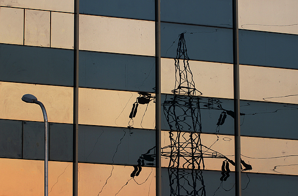 Prakash Ghai - Reflection of Electricity Tower