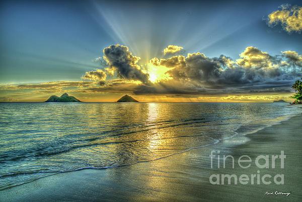 Reid Callaway - Resplendent Light Lanikai Beach Sunrise Hawaii Collection Art