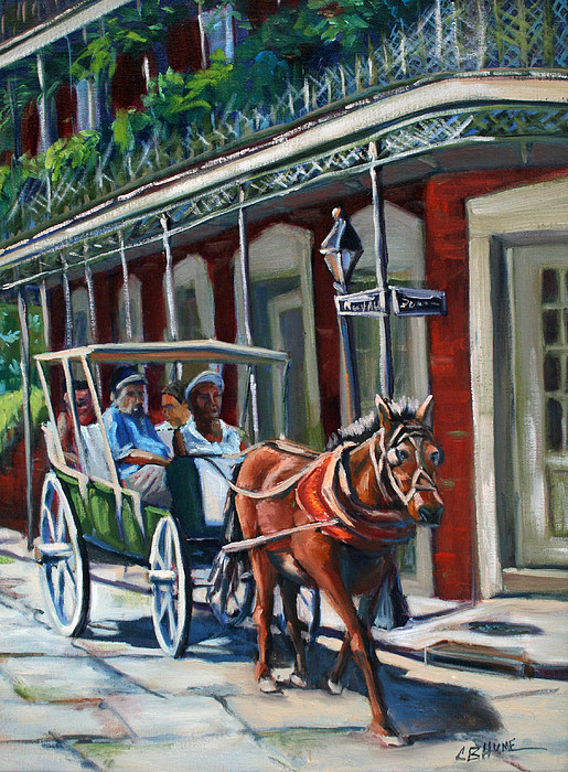 CB Hume - Riding In The French Quarter