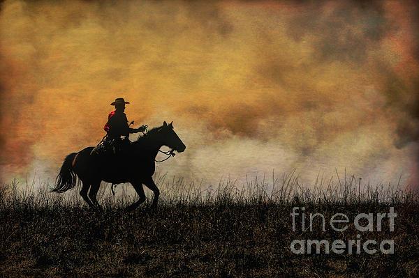 Lynn Sprowl - Riding the Fire Line
