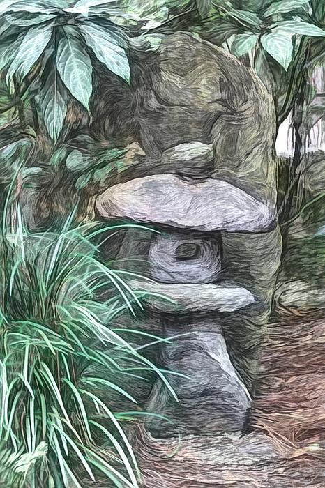 Chrystyne Novack - Ripples on Stone