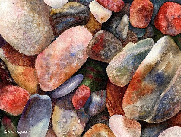 Anne Gifford - River Rocks