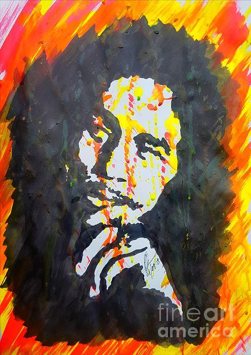Collin A Clarke - Robert Nesta Ink Portrait