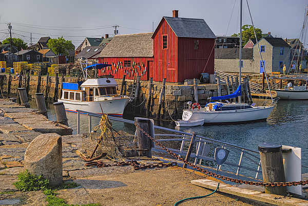 Rockport Waterfront Photograph