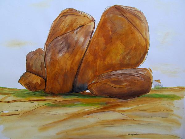 Ishwaraprakash K - rocks of Hampi-002