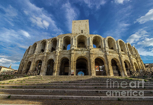 Liesl Walsh - Roman Colosseum In Center Of Arles, France