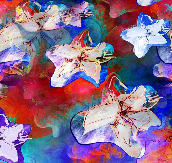 Abstract Angel Artist Stephen K - Romantic Spontaneity