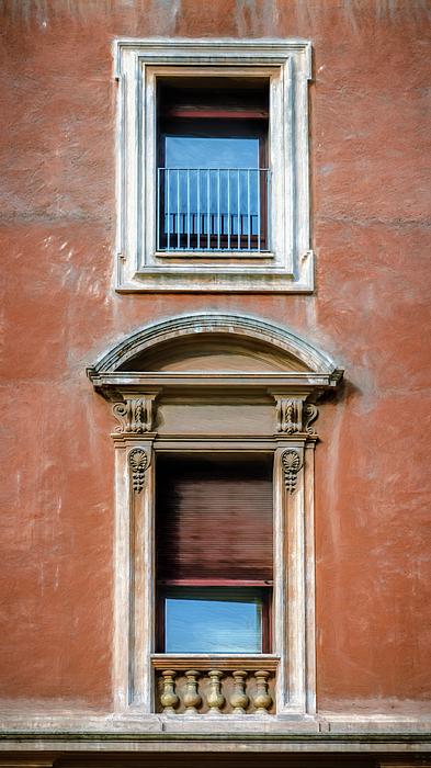 Joan Carroll - Rome Windows and Balcony