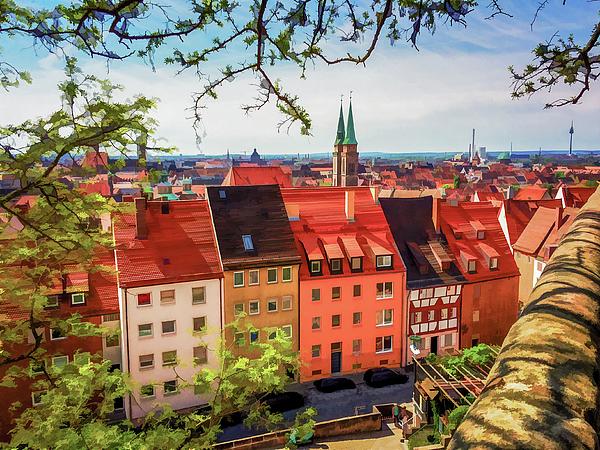 Lisa Lemmons-Powers - Rooftops in Nuremberg I