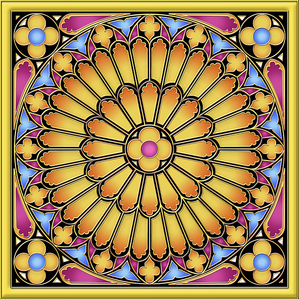 David Griffith - Rose Window Modified
