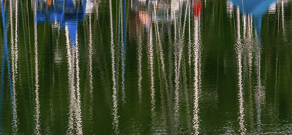 Marv Vandehey - Sailboat Reflections