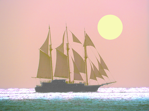 Laura Ragland - Sailing on a Silver Sea