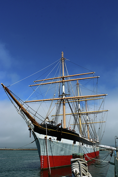 Christiane Schulze Art And Photography - Sailing Ship Balclutha