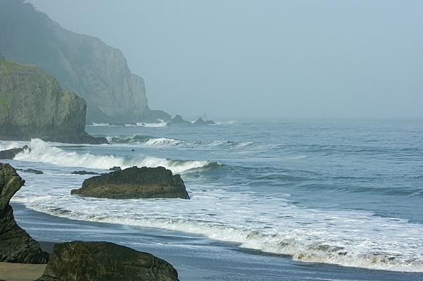 Georgia Mizuleva - San Francisco Fog - China Beach Rolling Surf