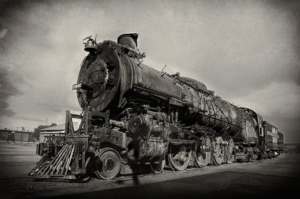 John Bartelt - Santa Fe Railway Steam Locomotive 2912