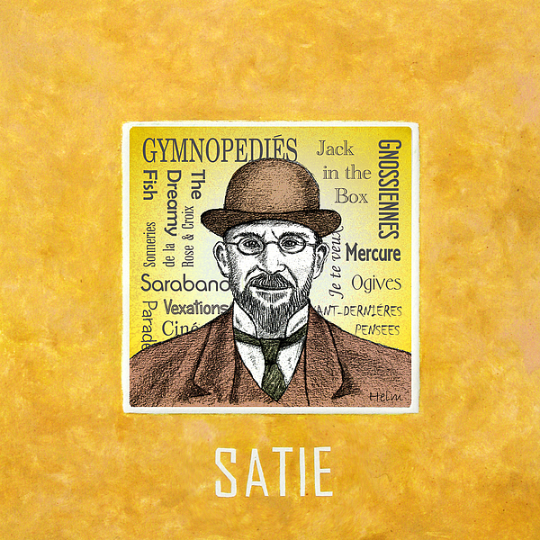 the life and music of erik satie After satie left school and the military, he lived a truly bohemian life, spending money and time around the montmartre district of paris and its cabarets, particularly the chat noir at the chat noir, artists like henri toulouse-lautrec, poets like contamine de latour, and musicians such as claude debussy discussed new ideas.