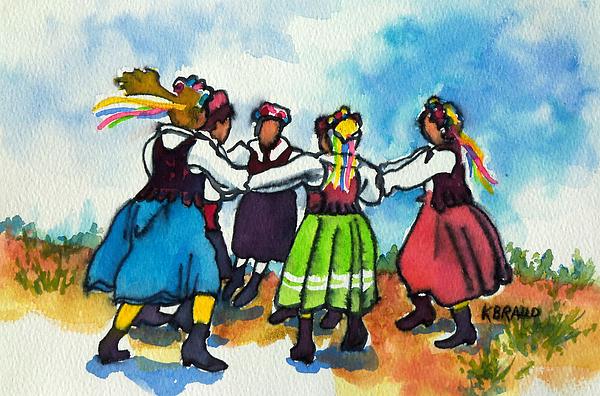 Kathy Braud - Scandinavian Dancers