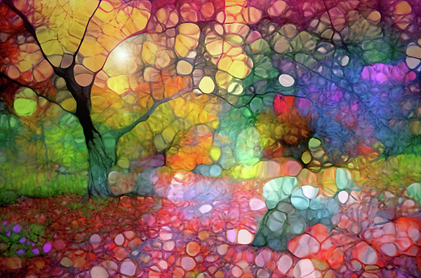 Tara Turner - Scattered Colours in the Autumn Gardens