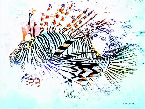 Mona Stut - Scorpionfish Abstract Color