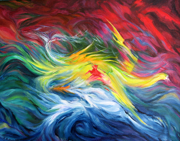 Maya Bukhina - Sea storm