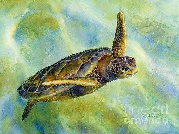 Sea Turtle 2 Painting