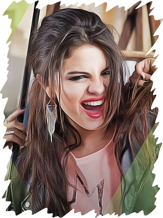 Selena Gomez Greeting Card For Sale By Twinkle Mehta