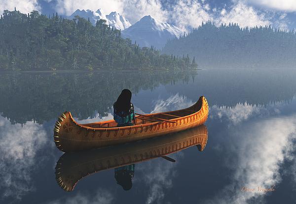 Diana Voyajolu - Serenity on the river